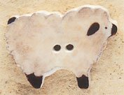 43119 - Sheep - 1 1/8in x 3/4in